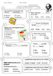 english teaching worksheets 1st grade