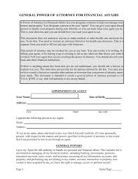 What Is A Power Of Attorney Form free vermont general financial power of attorney form pdf