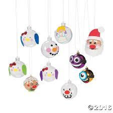 christmas ornament decorating craft kit assortment fab family