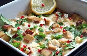 cuisiner tofu fumé cassolette de persil tubéreux et tofu fumé aux baies roses recette