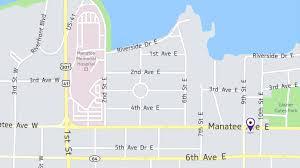 Bradenton Florida Map by Visit Lovewell Lovewell