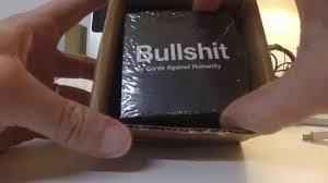 cards against humanity reject pack cards against humanity bullshit unboxing