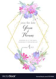 card for on wedding day greeting card for the wedding day royalty free vector image