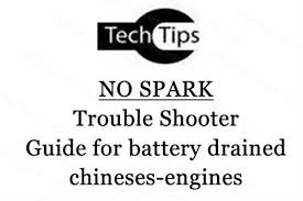 trouble shooter guide for no spark chinese engines