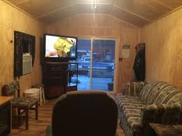 Cost To Convert Barn To House 384 Sq Ft Shed Converted Into Tiny Home For 11k