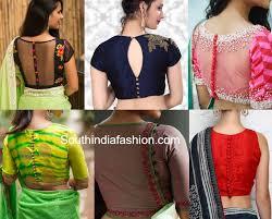 style blouse style blouse neck designs blue denim blouses