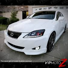 lexus isf white 2006 2013 lexus is250 is350 led strip drl smd led headlights