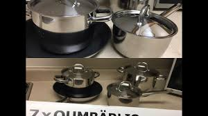 Ikea Cooktop Reviews Unboxing Ikea U0027s Kitchen Pots And Pans Review Youtube