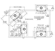 Standard Fireplace Dimensions by Northstar Wood Fireplace Heat U0026 Glo