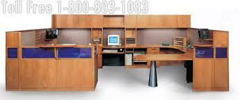 Two Person Reception Desk Reception Station Desk Lobby Furniture Oak Walnut Maple Cherry
