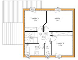 plan maison simple 3 chambres plan maison 3 chambres etage