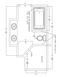 8 x 12 bathroom floor plans