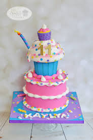whimsical fun birthday cake cake by leila shook shook up