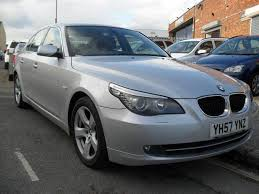 bmw 5 series for sale used bmw 5 series 2007 diesel 520d se 4dr saloon silver manual for