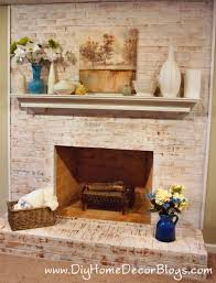 painting brick fireplaces how to