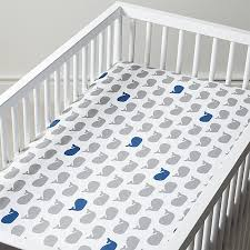 Whale Crib Bedding Baby Bedding Grey Blue Whale Crib Bedding Crate And Barrel