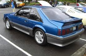 1992 ford mustang ultra blue 1992 ford mustang gt hatchback mustangattitude com