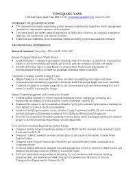 download environmental engineer sample resume