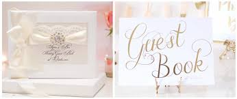 personalized wedding guest book wedding guest books uk
