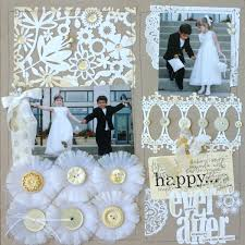scrapbook wedding layout roundup ideas for scrapbooking weddings