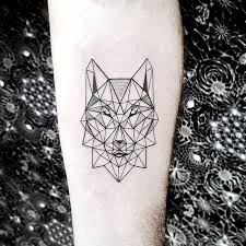 the 25 best geometric wolf tattoo ideas on pinterest geometric