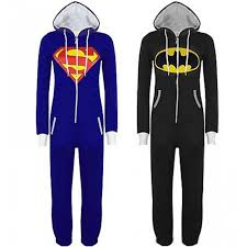 unisex pyjamas batman onesies for adults