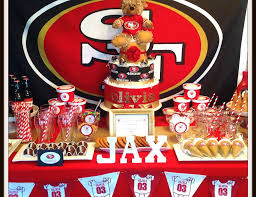 football baby shower baby shower baby shower 49ers football catch my party