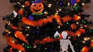 my halloween christmas tree youtube