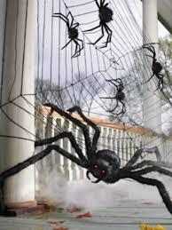 halloween decorations giant spider halloween spider web decorations