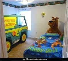 Scooby Doo Bed Sets Scooby Doo Bedroom Decor The Mystery Machine Scooby Doo Room Decor