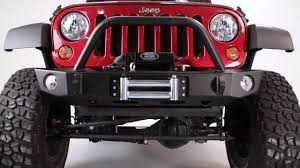 jeep rubicon winch bumper expedition one jeep wrangler jk core series bumper install youtube