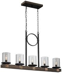Island Lighting Fixtures by Artcraft Lighting Hockley 5 Light Island Fixture Ceiling Pendant