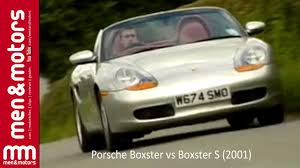 Porsche Boxster Base - richard hammond compares the porsche boxster vs boxster s 2001