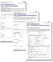 trainer application forms 2015 16 health education england