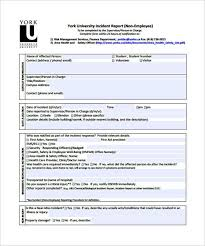 employee incident report templates basic student incident report template templatezet