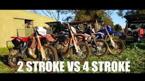 off road motocross bikes for sale 2 stroke 250 vs 4 stroke 450 dirtbikes youtube