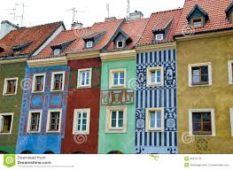 european house european houses stock image image of front brick exterior