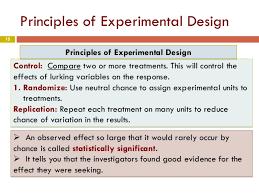 good experimental design chapter 3 part1 design of experiments