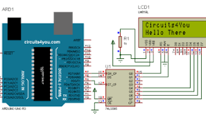 16 2 lcd display interface with arduino circuits4you com