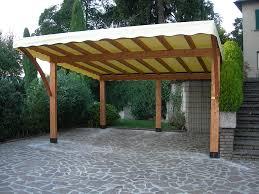 tettoia autoportante tettoie per giardino in legno lamellare
