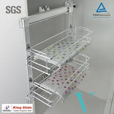 Kitchen Cabinet Pull Out Baskets Wire Slide Out Shelves For Kitchen Cabinets Gramp Us