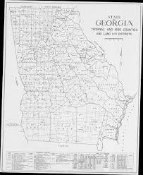 Georgia Counties Map Mountain Stewards