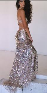 dress prom dress sparkly dress gold gold sequins long prom