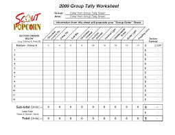 tally chart worksheet free worksheets library download and print