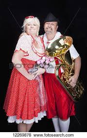 pictures of proud loving austrian couple at talent show in