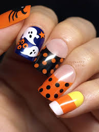 halloween impress press on manicure by broadway nails review and