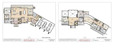 our most popular timber frame vacation home floor plans