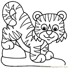 Tiger Pictures To Color Coloring Page We Are All Magical Tiger Coloring Pages Tiger