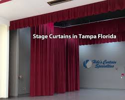 Maroon Curtains Stage Curtains In Florida Archives Hiles Curtains Specialties