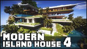 Modern House Minecraft Minecraft Modern Island House 4 Island House Xalima Youtube